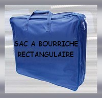 SAC A BOURRICHE RECTANGULAIRE
