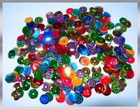 SEQUINS RONDS - COULEURS ASSORTIES